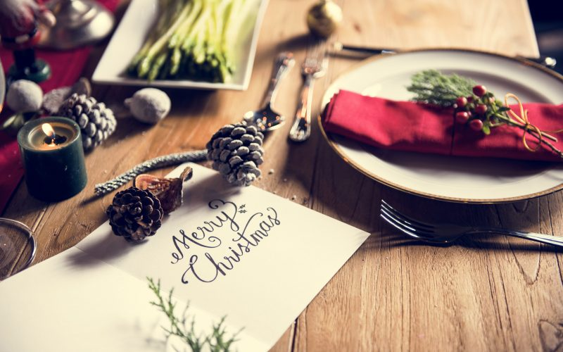 Menù pranzo di Natale